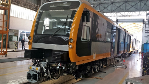 AnsaldoBreda Metro Genova