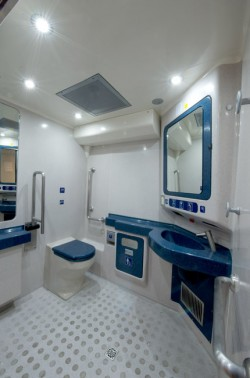 Toilet Intercity Astra Vagoane HK