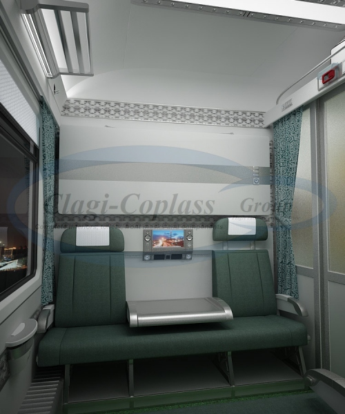 Compartment Coach - Day and Night - Green